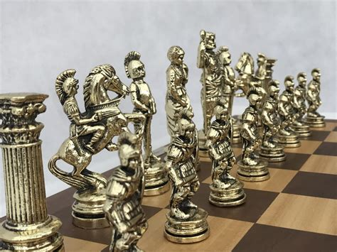 metal chess set roman metal chess set 0 1278 426100