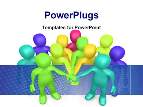 Teamwork Business Power Point Templates Quotes Teamwork Powerpoint Template