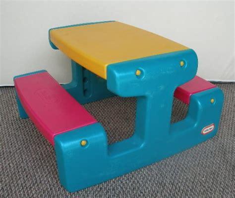 childrens plastic picnic bench kids picnic table details a baby s choice baby and guest