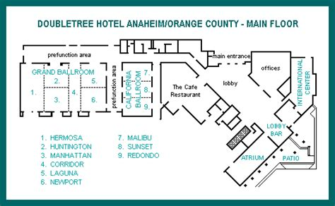 hilton hotel room layout main floor floor map