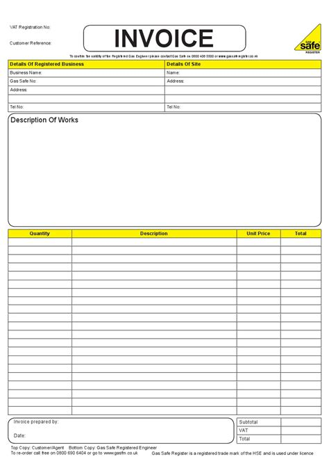 invoice book template invoice book