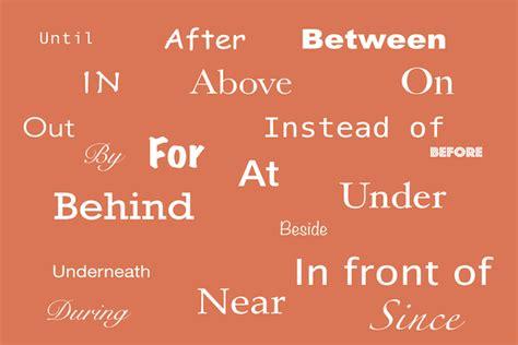 perbedaan preposition  place  preposition  time