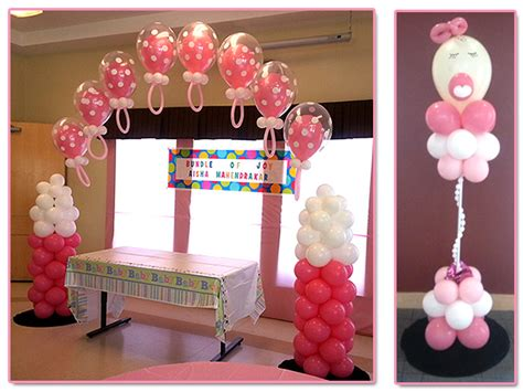 Balloon Arch Baby Shower by Baby Shower Decorations And Gifts By Balloons Galore And More
