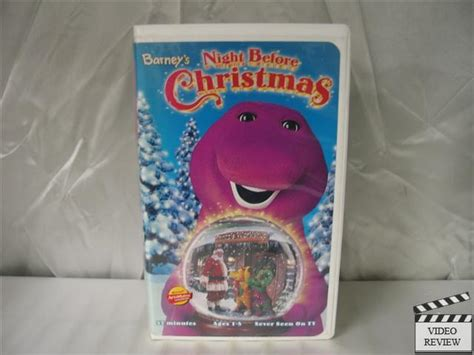 barney s night before christmas vhs video search engine