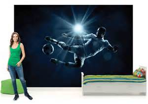 football soccer photo wallpaper wall mural dsw1166p ebay pin soccer wall murals and wallpaper on pinterest