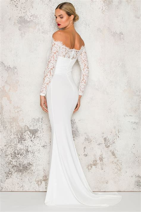 White Swan Dress k 246 p white swan maxi dress hos dennis maglic