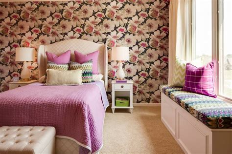wallpaper for teenage bedrooms 23 floral wallpaper designs decor ideas design trends