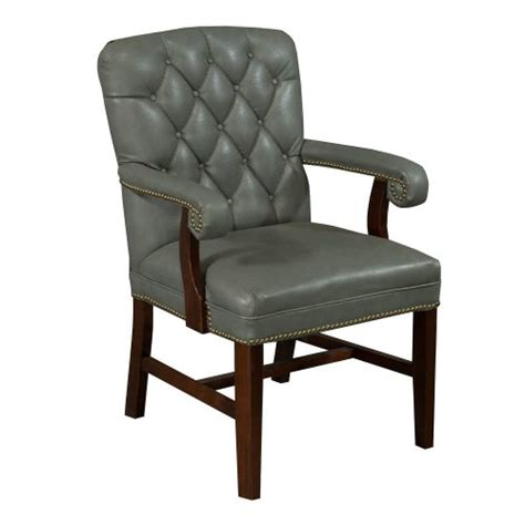 grey leather conference chairs planto used wood tufted leather conference chair blue gray