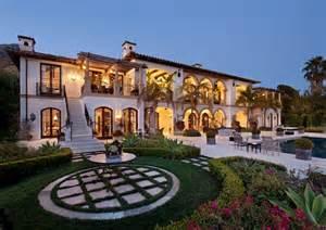 mediterranean mansion newly listed 18 9 million mediterranean mansion in montecito ca homes of the rich