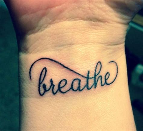 breathe tattoos wrist 54 just breathe tattoos design on wrist