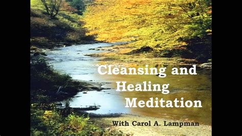 Healing Mediations For Detox by Cleansing And Healing Meditation