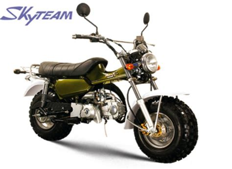 Suzuki T Rex Skyteam T Rex 50 Moped New 50cc Based On Suzuki Rv125 Sand