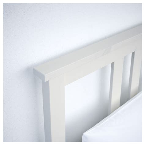 Hemnes Bed Frame White Hemnes Bed Frame White Stain Lur 246 Y Standard Single Ikea