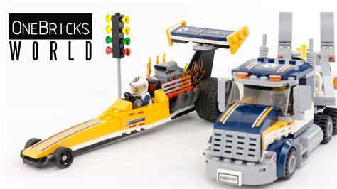 Produk Istimewa Lego City 60151 Dragster Transporter lego city 60151 dragster transporter lego speed build