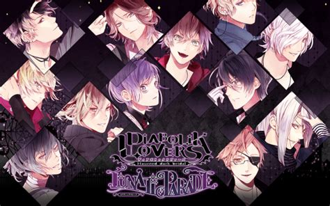 kumpulan gambar anime diabolik lovers diabolik lovers lunatic parade anime manga
