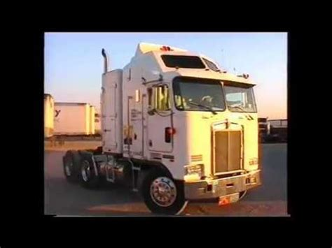 history of kenworth trucks truck history nbc sports 1994 kenworth k100 k100e one