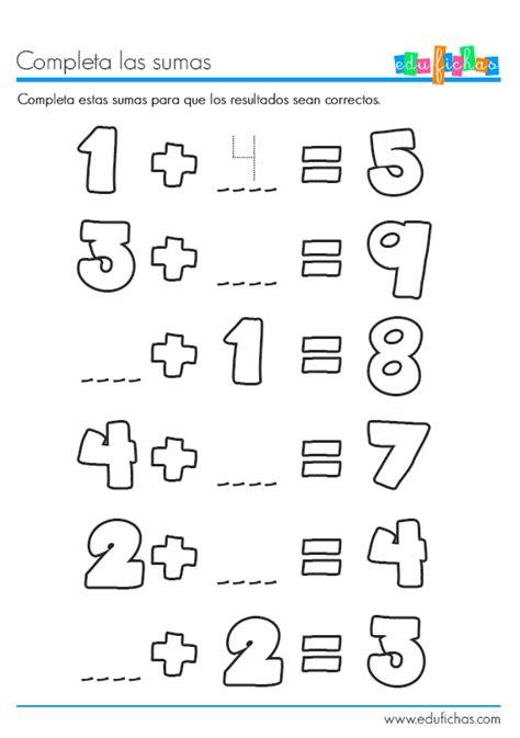 imagenes de matematicas sumas y restas completa las sumas matematicas pinterest la suma