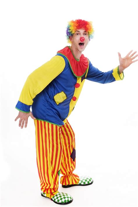 Clown L by Dress Me Up Costume Clown S S Circus