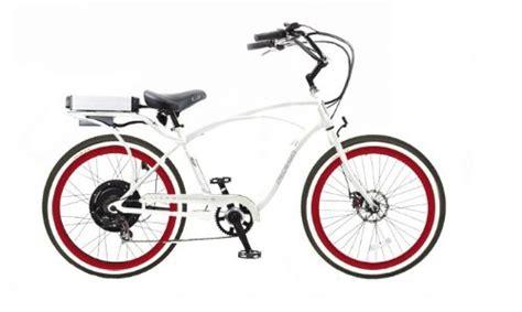 comfort bike tires pedego white comfort cruiser classic electric bike with