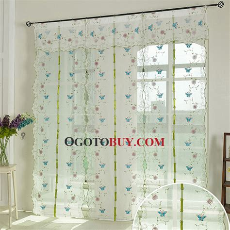 sheer curtains with embroidery 10 elegant sheer curtains with embroidery kinjenk house