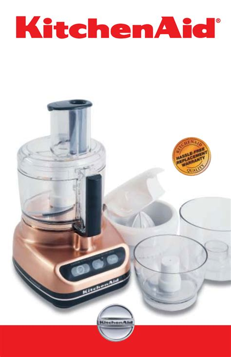 Kitchen Aid Food Processor.Kitchenaid 6quart Bowllift