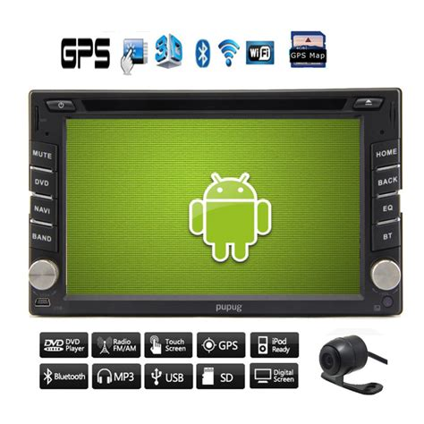 android stereo android 4 2 dual cpu 2 din car radio stereo gps navigation car audio dvd cd