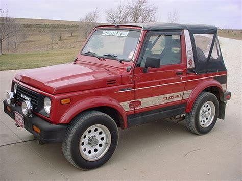 Suzuki Samurai 1991 1991 Suzuki Samurai Pictures Cargurus