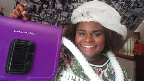 Laila Ali Hair Dryer laila ali soft ionic bonnet dryer review