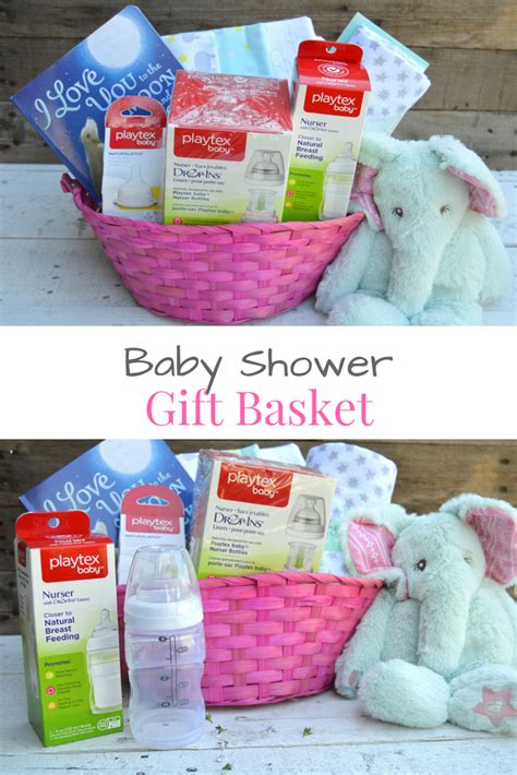 Gift Baskets For Baby Shower by Baby Shower Gift Basket My Big Happy