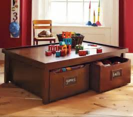 Play Table With Storage by Design With In Mind Best Storage Ideas