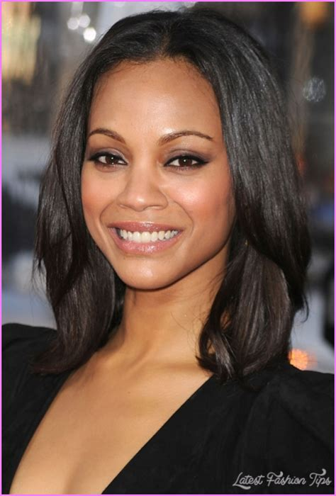 picture of shoulder length hair on african american women medium haircuts african american hair latestfashiontips