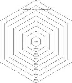 hexagon templates for quilting free 6 inch hexagon template quotes