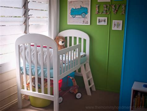 diy toddler loft bed diy on a dime how to make a toddler loft bed out of an