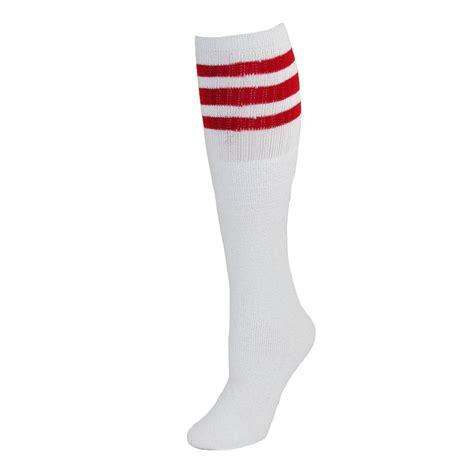 Stripe Socks striped top ribbed socks 4 pair pack by ctm
