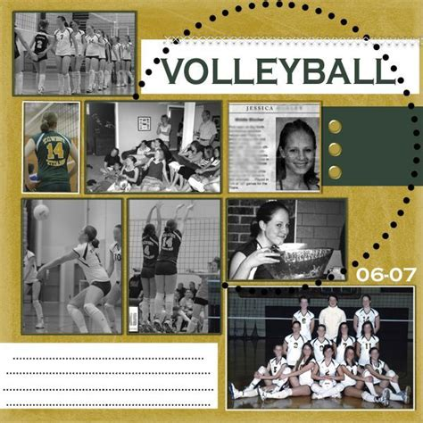 scrapbook layout ideas for volleyball 76 best images about volleyball scrapbooking on pinterest