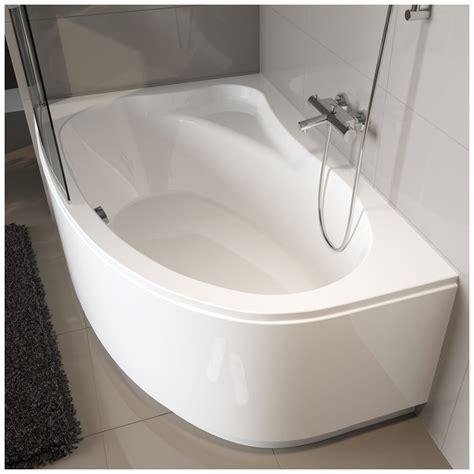 badewanne raumspar riho lyra raumspar badewanne 140 x 90 cm ba65 megabad