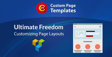 custom page templates custom page templates v1 0 0 nulled plugins