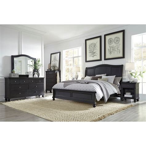 aspenhome oxford queen bedroom group stoney creek aspenhome oxford transitional queen sleigh bed with usb