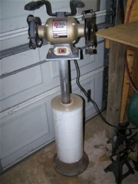 how to make a bench grinder stand homemade bench grinder stand homemadetools net