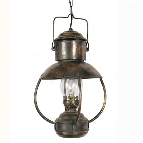 Heritage Lighting by Falmouth Nautical Ceiling Pendant Light Antique Replica