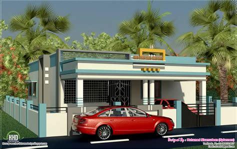 tamilnadu style single floor home design kerala and house