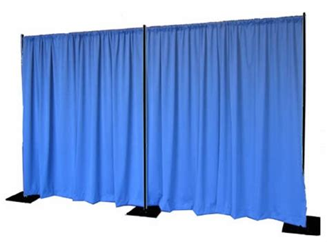 eei pipe and drape a simple pipe and drape quick backdrop kit with black