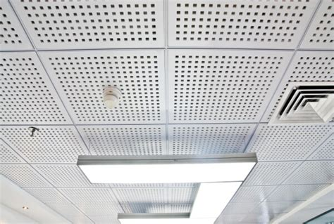 Ceiling Tile Board Acoustic Perforated Gypsum Board Plaster Drywall Ceiling