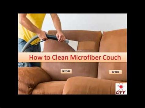 how to clean microfiber home remedies an