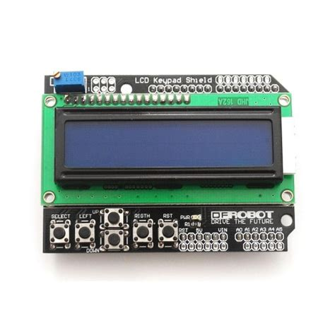 arduino tutorial lcd keypad shield buy online alphanumeric lcd keypad shield for arduino from