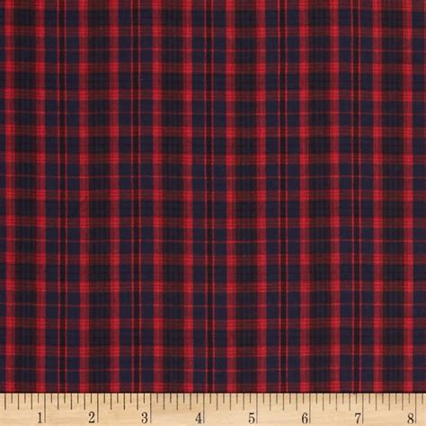Tartan Navy by Tartan Plaid Navy Discount Designer Fabric Fabric