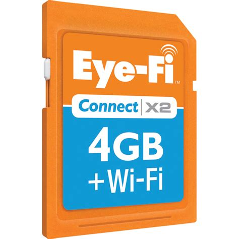 wireless memory card for eyefi 4gb sdhc memory card connect x2 wireless class 6