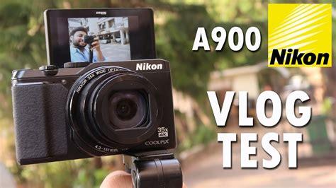 nikon coolpix  digital camera vlog style camera test