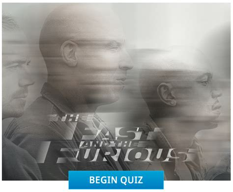 fast and furious quiz which character are you quiz which fast furious character are you thrifty