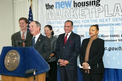 new housing marketplace plan mayor bloomberg details nations largest municipal housing plan to build and preserve
